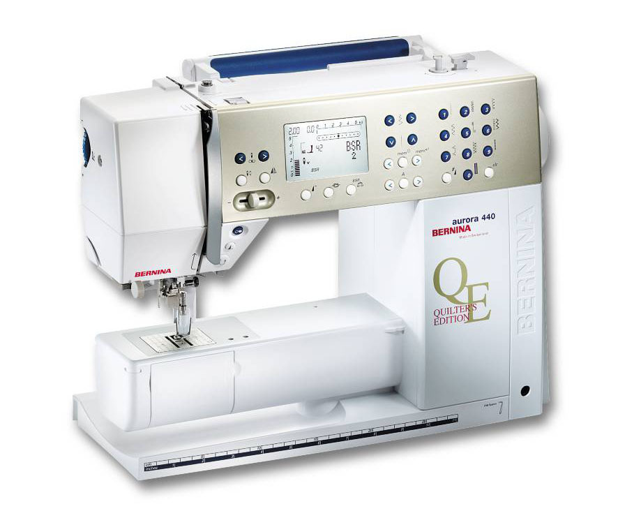 BERNINA Nähmaschine Aurora 440QE mit BSR-Fuß (BERNINA Stich Regulator)