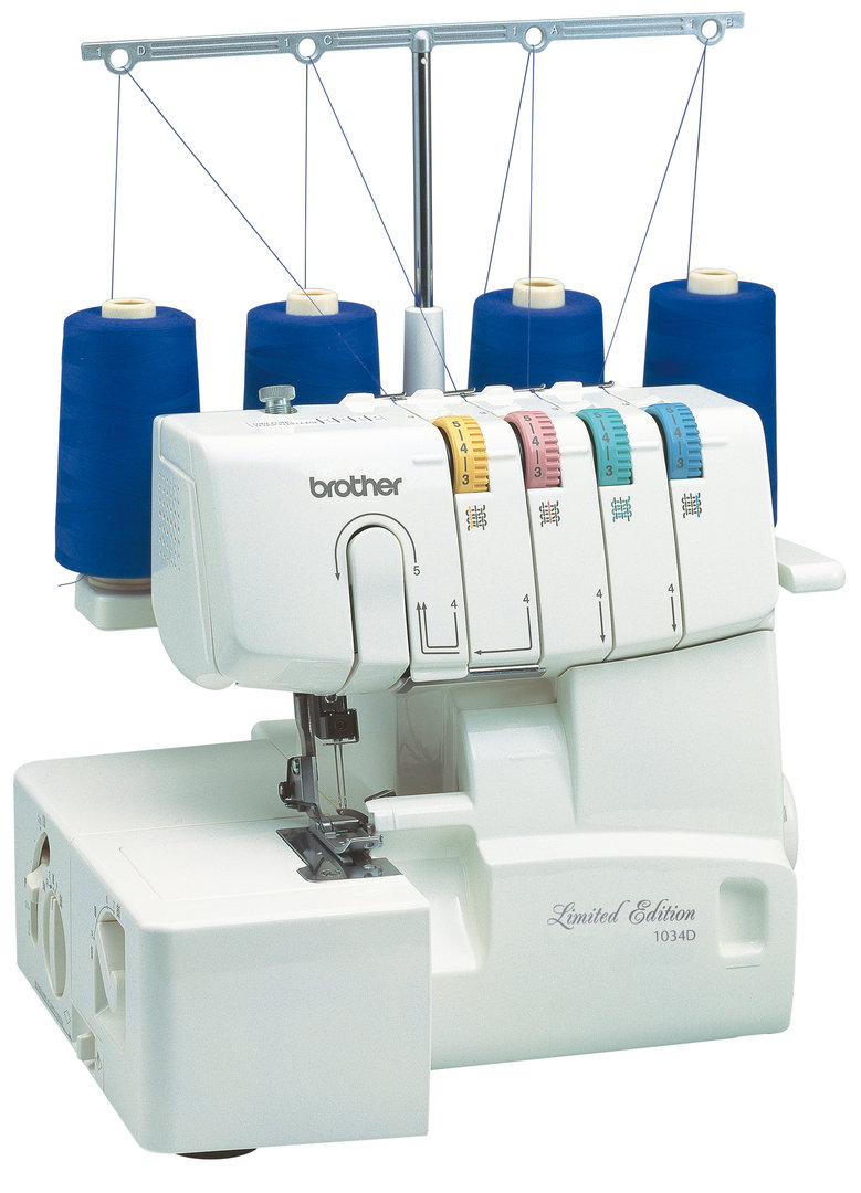 BROTHER Overlock 1034D Limited Edition Nähmaschine (Vorführgerät)