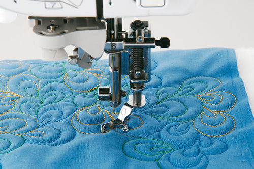 BROTHER Quilt-Applikationsfuss 7mm offen