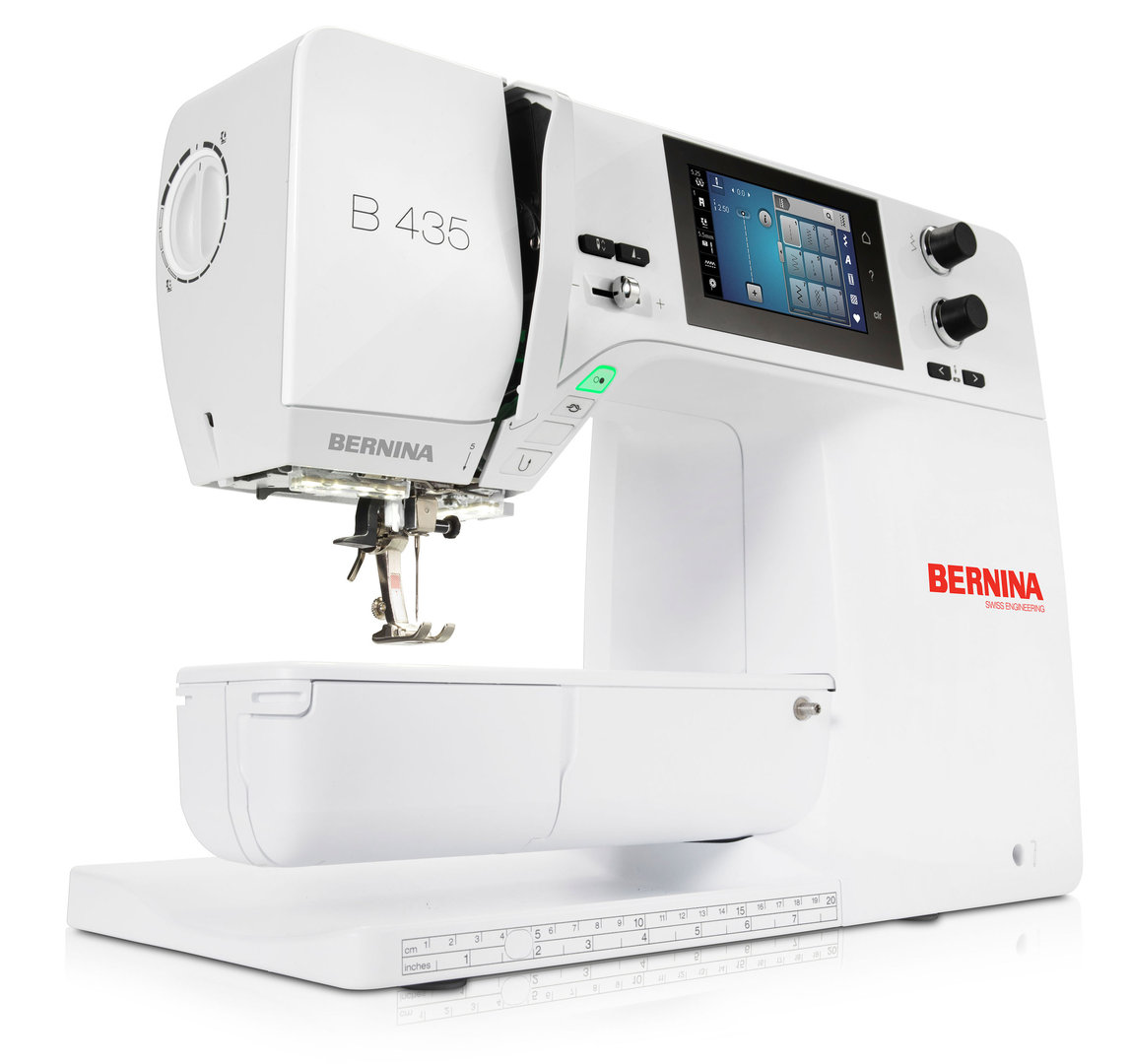 BERNINA 435 Nähmaschine (inkl. Snap-on-Füsse)